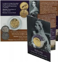 Young Victorian Coin Pack - Gold Sovreign (Replica)